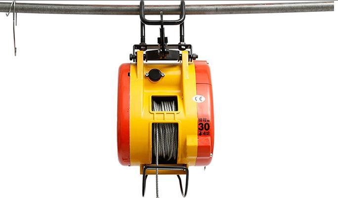 台湾小金刚电动葫芦属于电动提升类起重工具